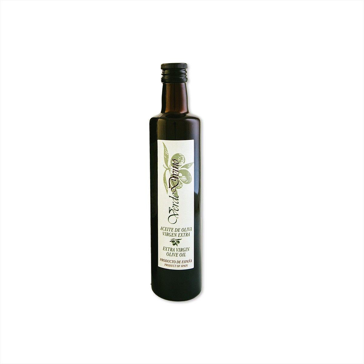 Botella de Cristal de Aceite de Oliva Virgen Extra 500ML