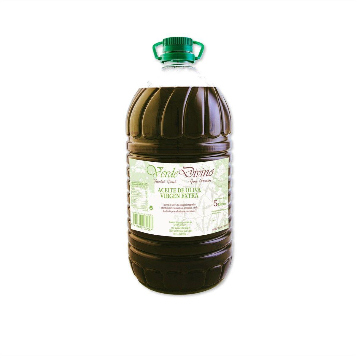 Garrafa de Aceite de Oliva Virgen Extra 5Litros